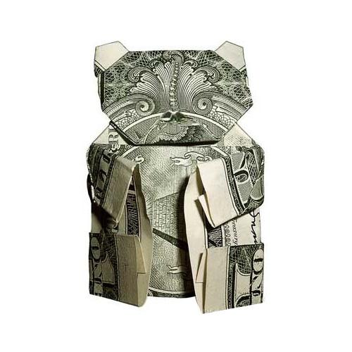Оригами из денег или Moneygami