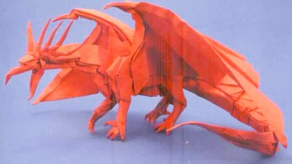 Фантастическое оригами Сатоши