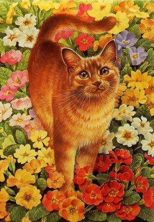 Фантастические кошки Lesley Anne Ivory
