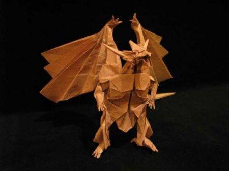 Фантастическое оригами Сатоши Камия