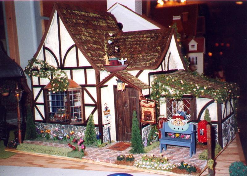 кукольный домик и миниатюра