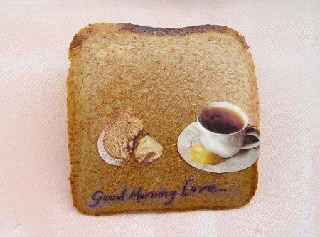 Живопись на тостах от Ксимены Эскобар