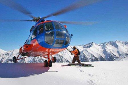 Хели-ски - горные лыжи + вертолет