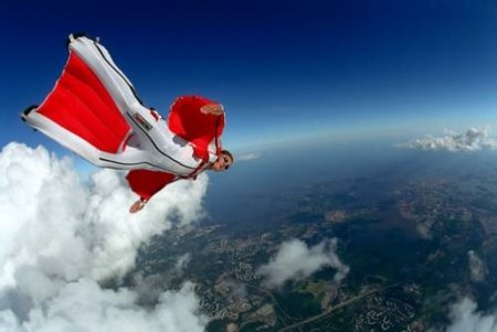 Вингсьют (wingsuit flying)