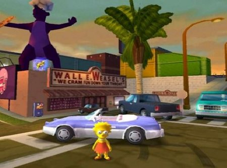 ��� ���� � ���� The Simpsons Hit and  Run