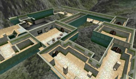 Карта для Counter-Strike 1.6 - de aztec 4