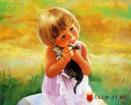 Мир детства художника Donald Zolan