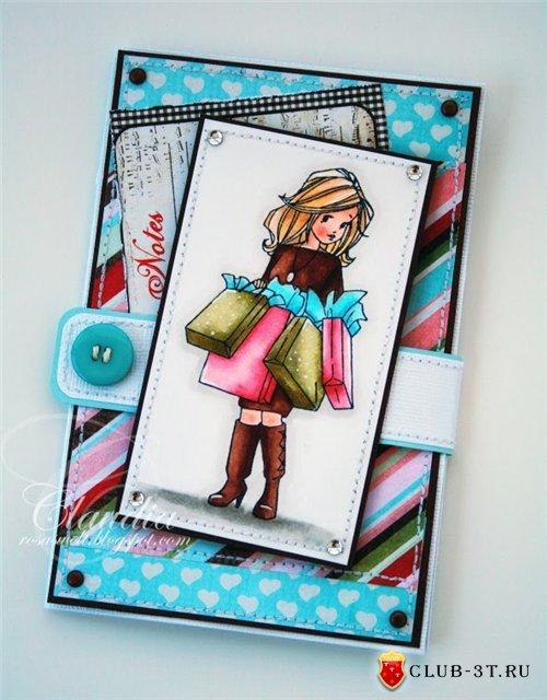 Сделать открытку девушке на день рождения 804