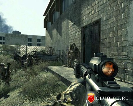 Трейнер к игре Call of Duty 4  Modern Warfare