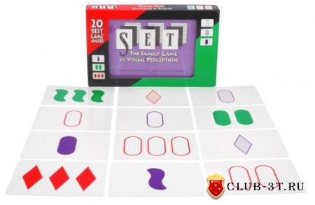 Сет (Set) или игра, рожденная эпилепсией