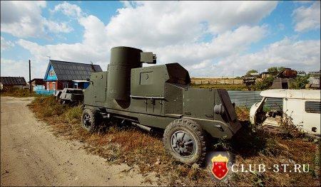 Деревенский танкодром