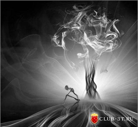 Картины из дымa