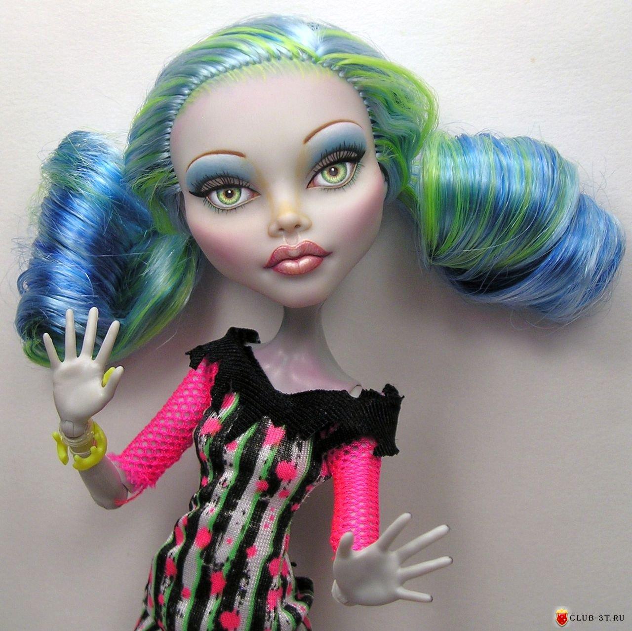 Фото причёсок для кукол монстер хай