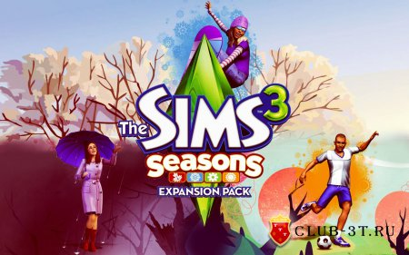 Игра The Sims 3 Seasons ( The Sims 3 Seasons Времена года )