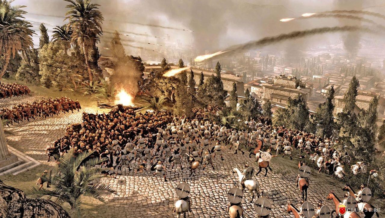 Скриншот игры total war rome 2