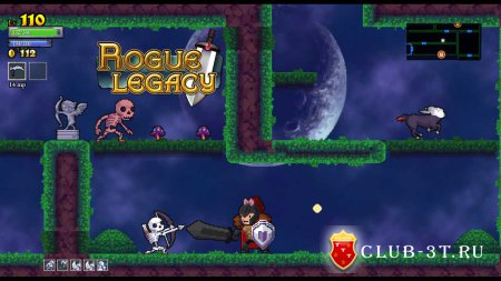 Rogue Legacy Trainer version 1.0.12c + 5