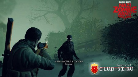 Sniper Elite Nazi Zombie Army Trainer version 1.05 + 15