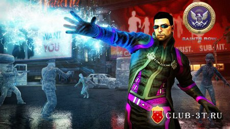 Saints Row 4 Трейнер version 10.12.2013 + 20