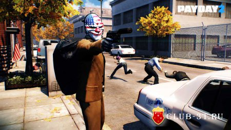 PayDay 2 Trainer version 20.x + 17