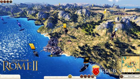Total War Rome 2 Trainer version 1.9.1.9651 + 15