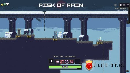 Risk of Rain Trainer version 1.02 + 1