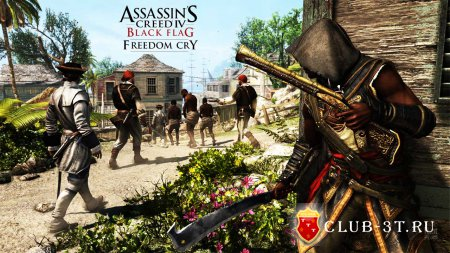 Assassin's Creed 4 Black Flag Freedom Cry Trainer all version + 21