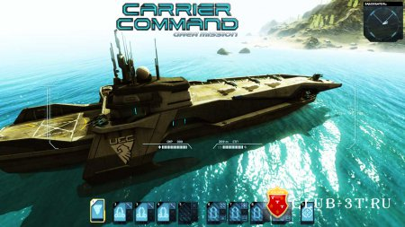 Carrier Command Gaea Mission Трейнер version 1.6.0011 + 5