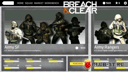 Breach & Clear Trainer version 4.2.1.11687 + 3