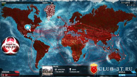 Plague Inc Evolved Трейнер version 4.3.1.28294 + 1