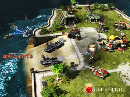 Command & Conquer Red Alert 3 Trainer version 1.12 + 8