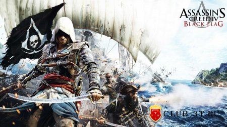Assassin's Creed 4 Black Flag Trainer version 1.07 + 14