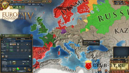Europa Universalis 4 Trainer version 1.5.1.0 + 9