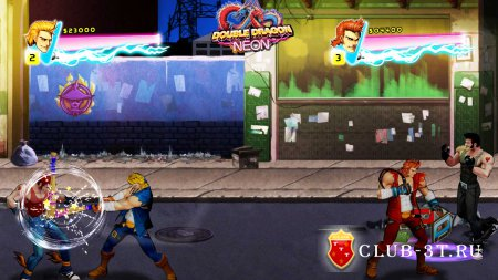 Double Dragon Neon Трейнер version all + 6