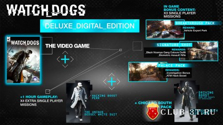 Watch Dogs Deluxe Edition Trainer version 1.01 + 36