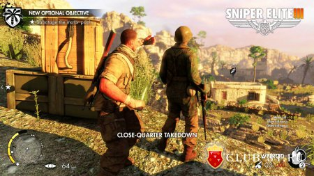 Sniper Elite III Trainer version 1.06 + 6