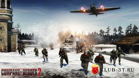 Company of Heroes 2 Trainer version 3.0.0.14937 + 8