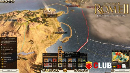 Total War Rome II Emperor Edition Trainer version 2.0.0.14901 + 15