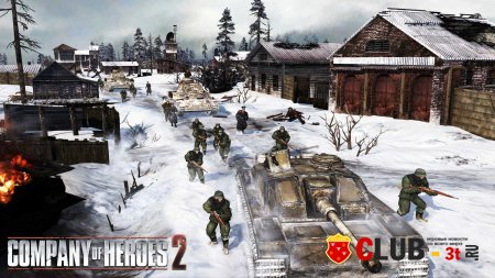 Company of Heroes 2 Trainer version 3.0.0.16337 + 7