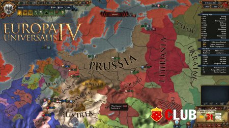 Europa Universalis IV Trainer version 1.8.1 + 9
