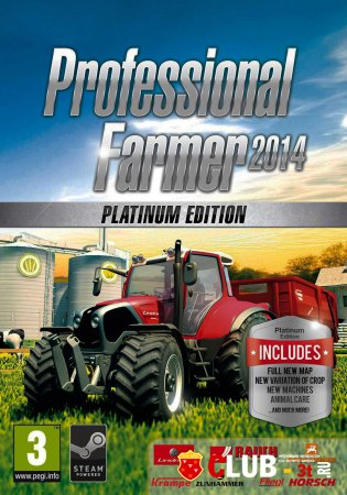Professional Farmer 2014 Platinum Edition Trainer version 2.145 + 1