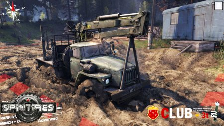 Spintires Trainer version steam 480925 + 4