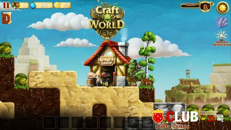 Craft The World Trainer version 1.0 + 7