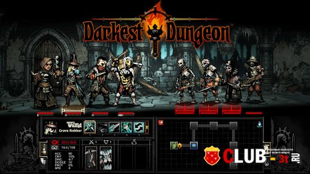Darkest Dungeon Trainer version build 9110 + 6