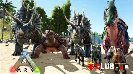 ARK Survival Evolved Трейнер version Early Access 19.07.2015 + 23
