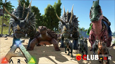 ARK Survival Evolved Trainer version Early Access 16.08.2015 + 13
