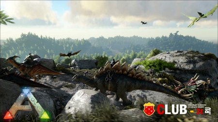 ARK Survival Evolved Trainer version Early Access 21.08.2015 + 23