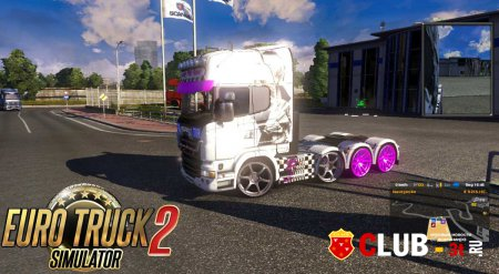 Euro Truck Simulator 2 Trainer version 1.20.1s 64bit + 6