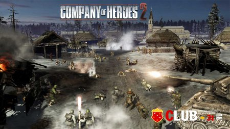 Company of Heroes 2 ������� version 4.0.0.19545 + 8