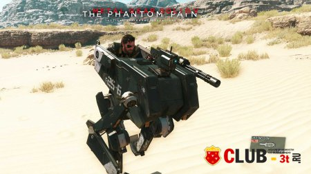 Metal Gear Solid V The Phantom Pain Trainer version 1.05 + 7