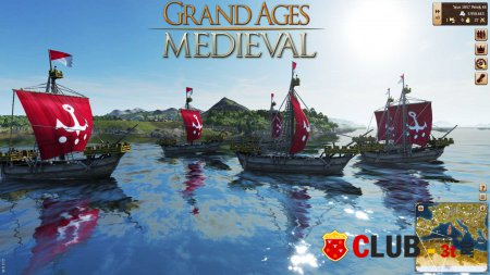 Grand Ages Medieval Trainer version 1.0 + 7